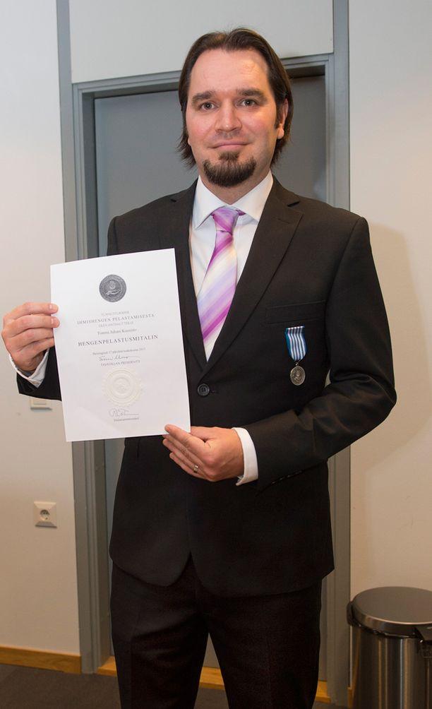 Presidentin hengenpelastusmitali ojennettiin vuonna 2013 Oriveden koulun opettajalle Tommi Juhani Kuusistolle, joka esti ampujan aikeet oman henkensä uhalla.