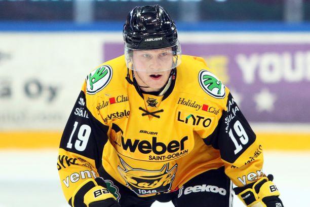 Tuomas Kiiskinen käväisi syksyllä 2019 lainalla SaiPassa.