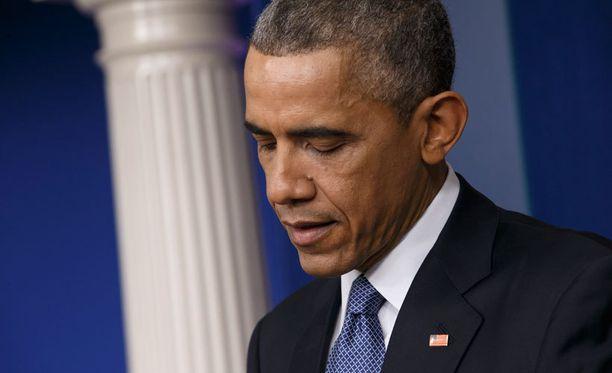 Yhdysvallat ei hyväksy Venäjän miehitystä, Obama linjasi.
