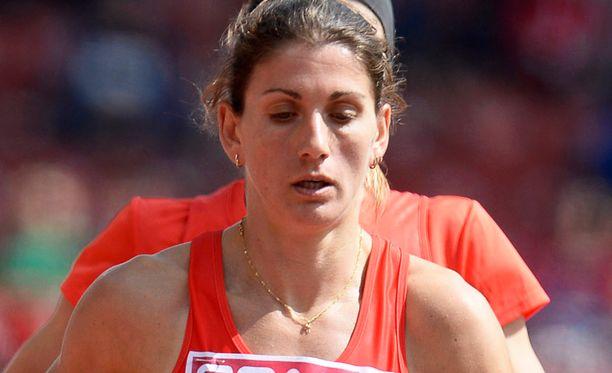 Silvia Danekova on antanut dopingnäytteen, jossa on merkkejä epo-hormonista.