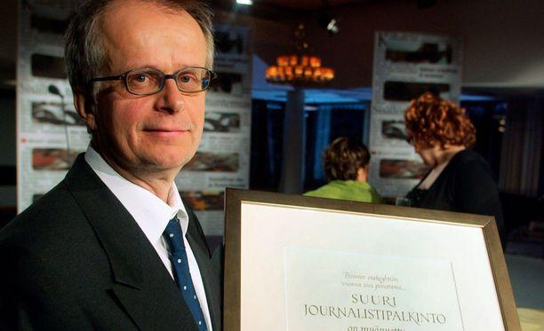 Ilkka Malmberg työskenteli Helsingin Sanomien toimittajana.