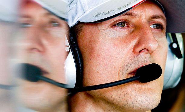 Michael Schumacher lopetti F1-uransa kauden 2012 päätteeksi.