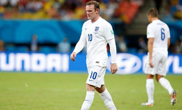 Wayne Rooney napautti brittimediaa.
