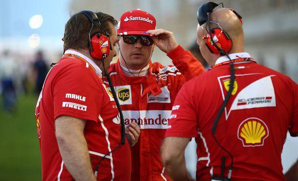 Kimi Räikkönen ei ole saanut tahtoaan läpi Ferrari-taktiikoissa.
