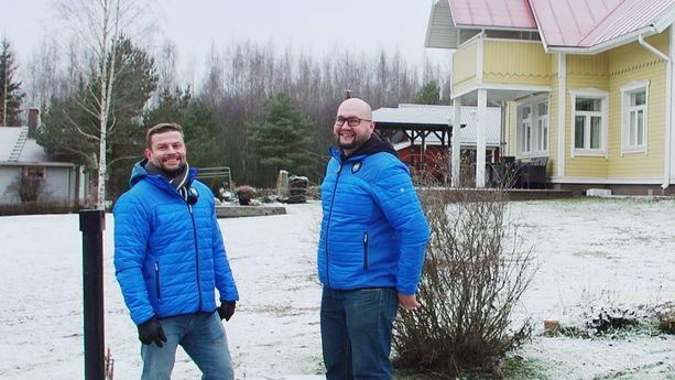 FANN Ympäristötekniikan Pyry Lehtonen ja Ari Mielonen korostavat, että Roslagen wc-järjestelmä sopii sekä omakotitaloihin että vapaa-ajan kiinteistöihin.