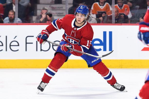 Jesperi Kotkaniemen Montreal kohtaa ensi yönä Buffalon.
