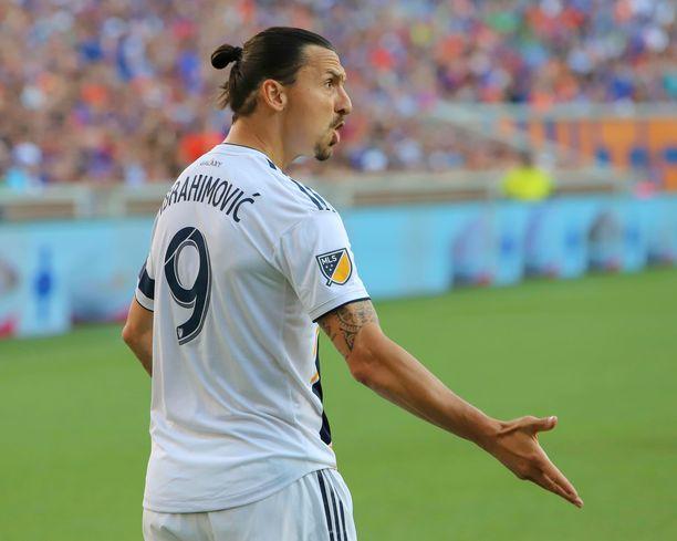 Zlatan Ibrahimovic otti oman paikkansa LA Galaxyn riveissä.