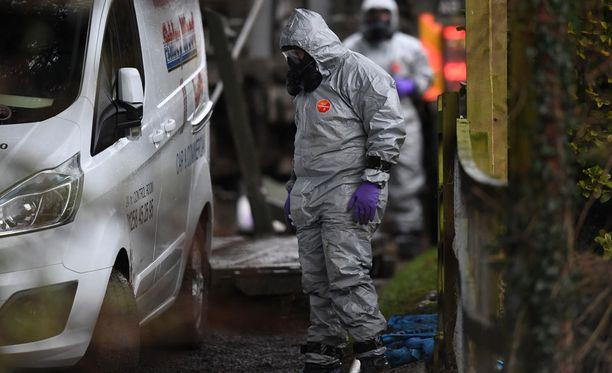 Venäjän ex-vakooja myrkytettiin Etelä-Englannin Salisburyssa erittäin harvinaisella hermomyrkyllä.