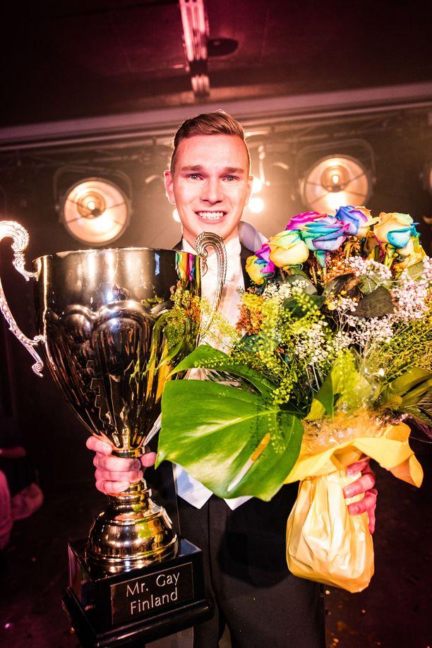 Vuoden 2019 Mr. Gay Finland Konsta Nupponen