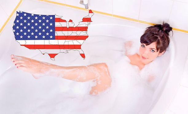 Pennsylvaniassa ei saa laulaa kylpyammeessa.