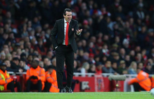 Arsenal-käskijä Unai Emeryn ohjeet ovat kaikuneet kuuroille korville.