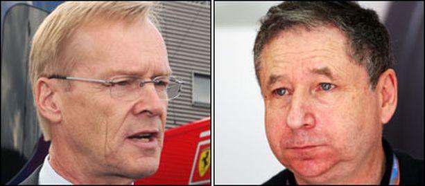 Kumpi on uusi FIA:n puheenjohtaja? Ari Vatanen vai Jean Todt?