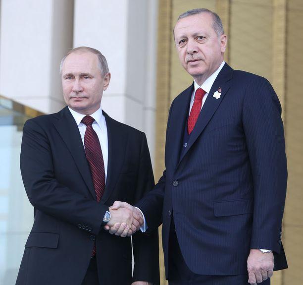 Presidentti Putin ja presidentti Erdogan tapasivat viime viikolla Ankarassa.