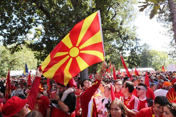 Makedonialaiset ovat vuosia protestoineet sitä, etteivät he ole voineet käyttää Makedoniaa maan virallisena nimenä.