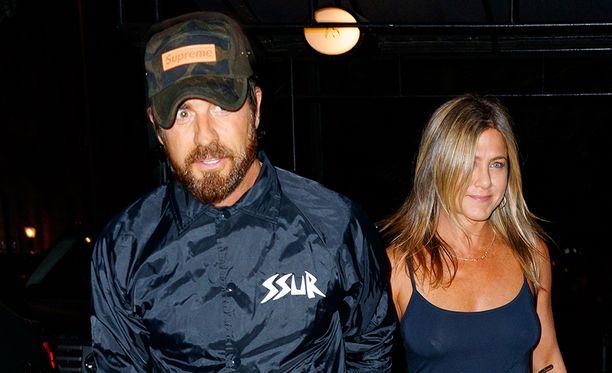 Justin Theroux ja Jennifer Aniston ilmoittivat erostaan viime viikolla.