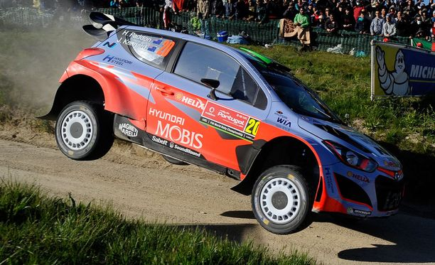 Sardiniassa hienosti toiseksi ajanut Hyundain uusiseelantilainen Hayden Paddon on yksi Jyväskylän MM-rallin mielenkiintoisista nimistä.