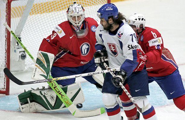 Norjan puolustus oli helisemässä Slovakian kanssa.