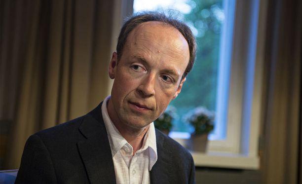 Jussi Halla-aho pitää Venäjää uhkana Euroopan turvallisuudelle.