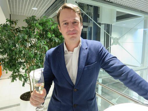 Arkkitehti Antti Nousjoki.