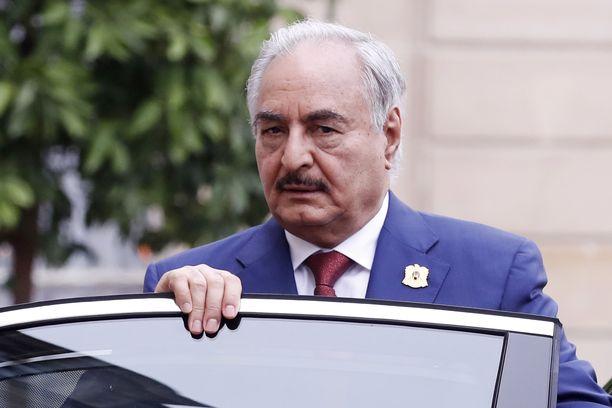 Khalifa Haftarin tavoite on saada Libya hallintaansa.