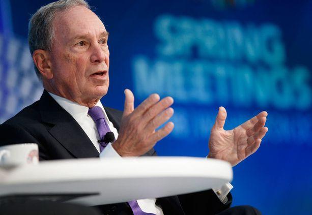 Michael Bloomberg toivoo maansa palaavan ilmastosopimukseen.