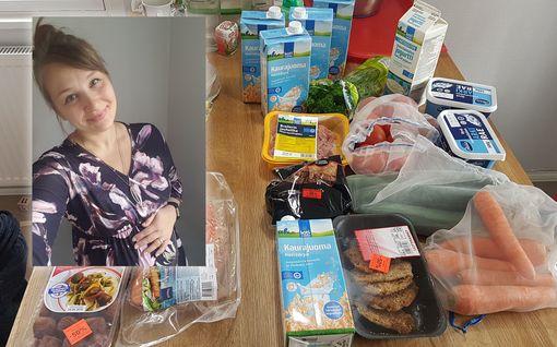 Kotiäiti Jenna, 29, päätti puolittaa kolmihenkisen perheen ruokalaskun – kuukauden ruokiin kuluu alle 200 euroa