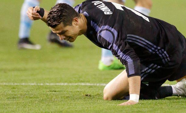 Cristiano Ronaldon maali ei riittänyt jatkopaikkaan.