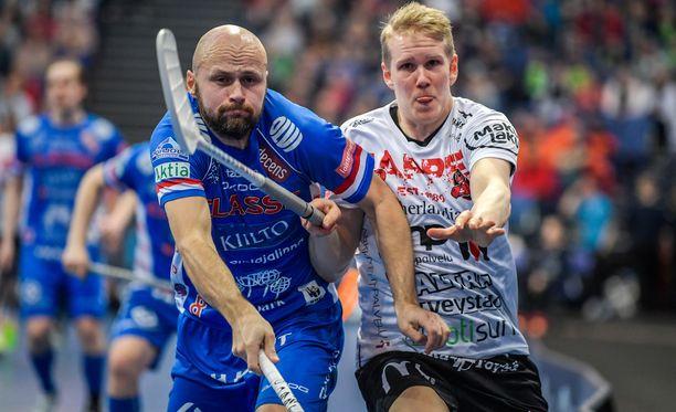 Juha Kivilehto (vasemmalla) jahtaa vielä ainakin yhtä mestaruutta.