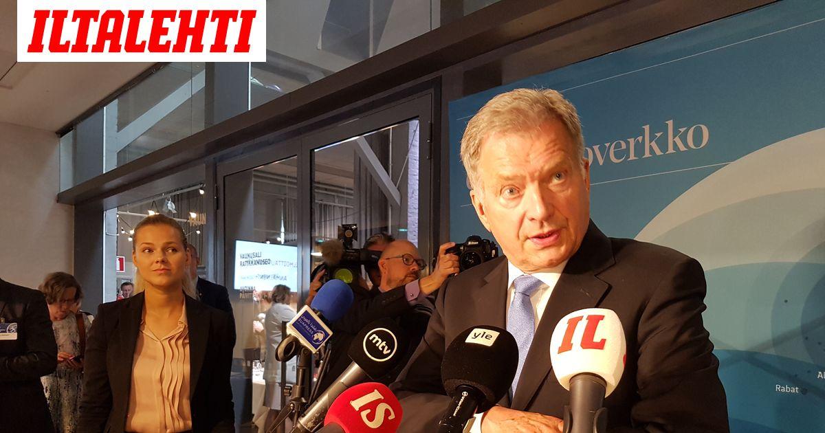 Sauli Niinistö: Eiköhän jo anneta suuren tviittikeskustelun olla