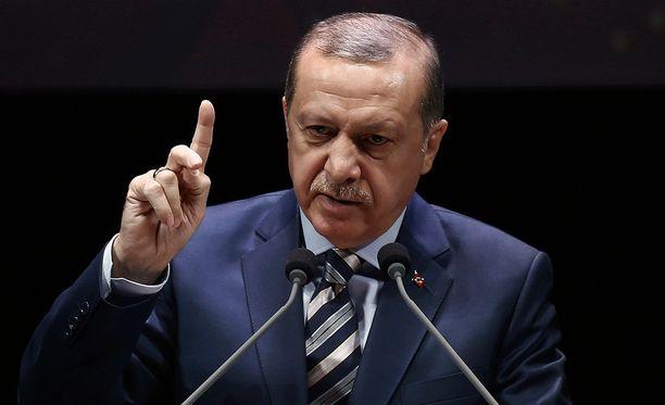 Turkin presidentti Recep Tayyip Erdogan julisti lokakuun lopussa, että Turkki potkii Isisin ulos Pohjois-Syyriasta.