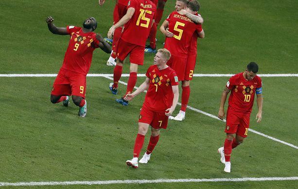 Juhliiko Belgia Brasiliaa vastaan?