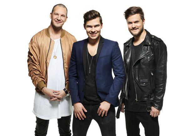 Heikki Puhakainen, Kalle Lindroth ja Lasse Piirainen ovat uuden Bumtsibumin Esa Nieminen, Marco Bjurström ja Seppo Hovi.