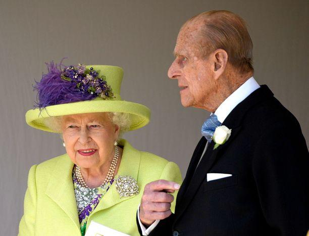 Kuningatar Elisabet II ja prinssi Philip eivät käy usein Glamisin linnassa.