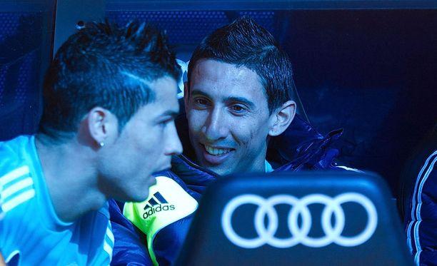 Cristiano Ronaldon Real Madrid ja Angel di Marian PSG ovat tänään vastakkain.