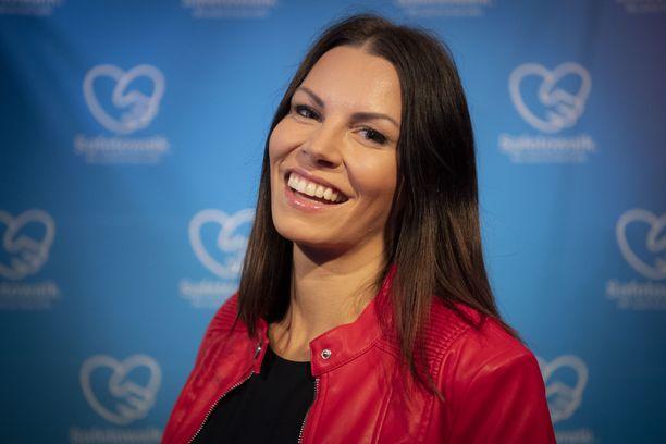 Mari Valosaari on tullut tutuksi muun muassa Fitnesspäiväkirjat-tv-sarjasta.