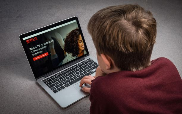 Netflix on suosittu suoratoistopalvelu.