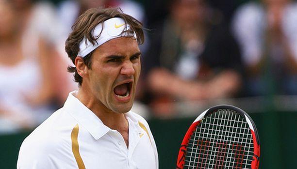 Wimbledonin mestaruus oli Federerille viides perättäinen.