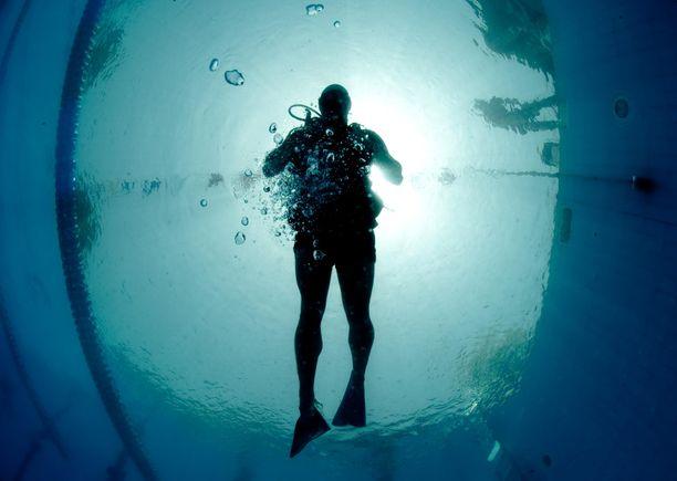 Bahrainin vesille on luotu huikea sukelluskohde. Kuvituskuva.