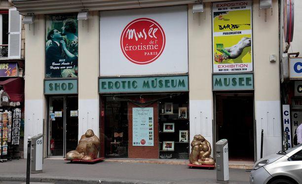Erotiikkamuseon vuokra kävi liian kovaksi kävijämäärien laskiessa.