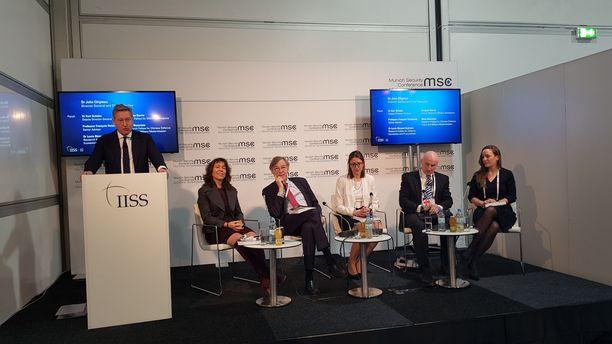 IISS:n asiantuntijat kommentoivat muun muassa ydinasekysymyksiä Münchenin turvallisuuskonferenssissa perjantaina.
