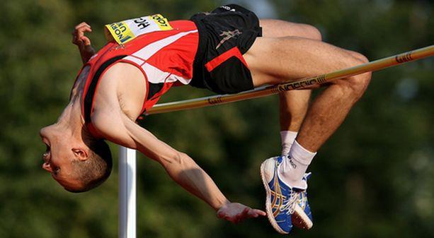 Stefan Holm teki korkeushypyn kärkituloksen 234.