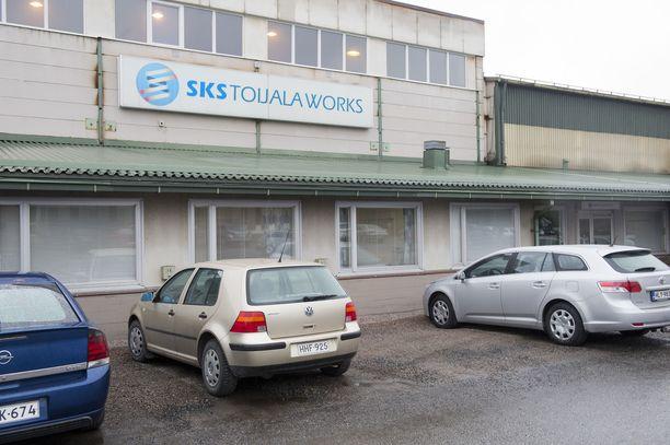 Voittoporukan työpaikka oli SKS Works. Kaikki irtisanoutuivat keventäen kollegoiden niskassa ollutta yt-uhkaa. Arkistokuva.