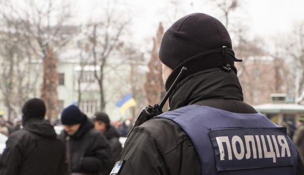 Paikallismedian mukaan Ukrainan poliisi tutkii kaappausta. Kuvituskuva.