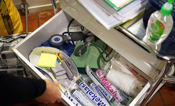 Helsingissä toimii vapaaehtoisvoimin klinikka, josta paperittomat saavat apua.