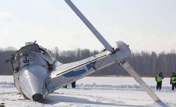ATR 72 -lentokonemalli on ollut jo aiemmin kymmenessä eri onnettomuudessa mukana. Utairille onnettomuus on samalla mallilla toinen, kuva Siperiasta vuodelta 2012. 31 ihmistä kuoli.