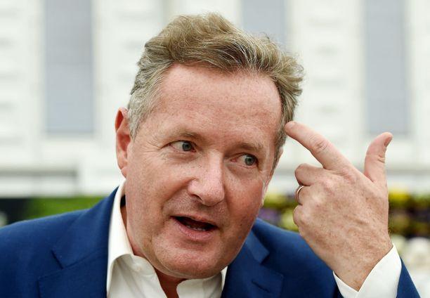 Piers Morgan on räväkkä journalisti ja sensaatiolehti Daily Mirror -lehden entinen päätoimittaja.
