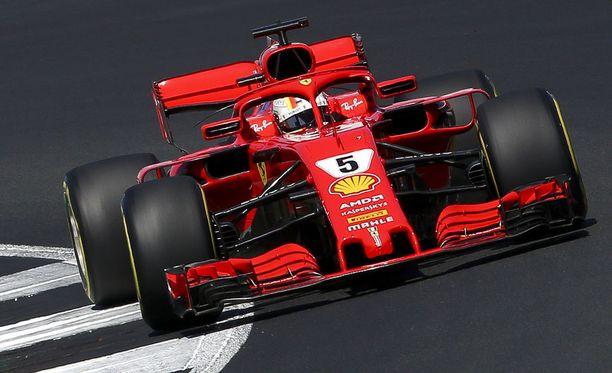 Sebastian Vettel ajoi uransa toisen voiton Silverstonessa. Voitto oli saksalaiselle jo tämän kauden neljäs.