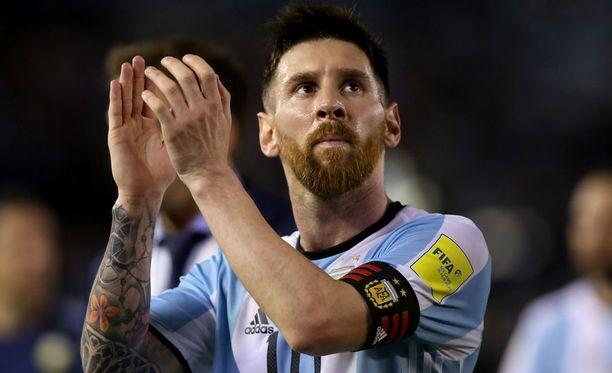 Leo Messi ei pelannut tiistaisessa Bolivia-tappiossa pelikieltonsa takia.