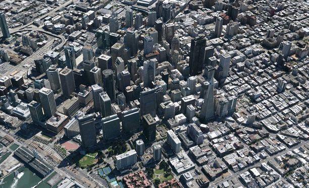 Tällaiselta näyttää Google Maps.
