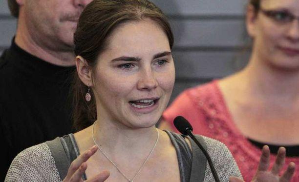 Amanda Knox vapautettiin murhasyytteestä viime lokakuussa.